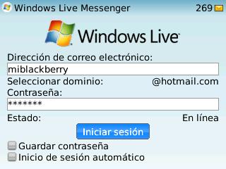 windows live messenger ii miblackberry com