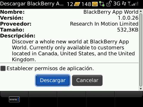 descargar whatsapp para blackberry z10 sin app world