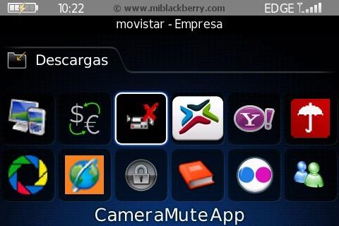 CameraMuteApp (silenciar la Cámara de tu BB) CameraMuteApp-1
