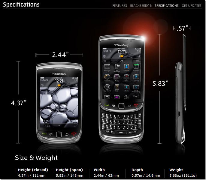 blackberrytorch9800especificaciones