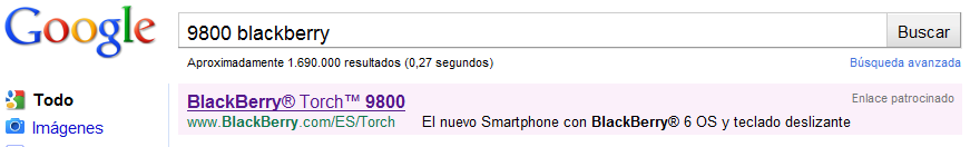 Google y 9800