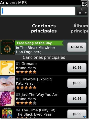 compra musica mp3 amazon
