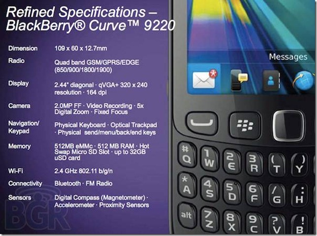 blackberry-curve-9220-specs