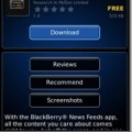 BlackBerryNewsFeeds